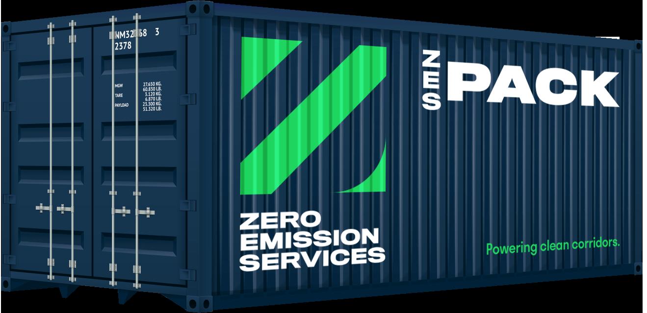Emissieloos varen - ZesPack Container